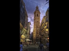 Valencia by night by Tracy Standring