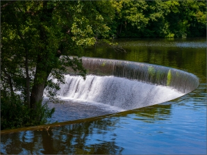 Eric M Ladbury ~ Horseshoe Falls at Belper Mill