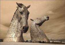 Eric M Ladbury ~ The Kelpies, Scotland