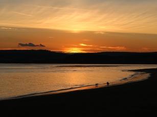 Graham Bostock ~ Sunset on the Beach