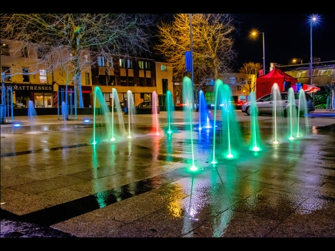 Ian Clifford ~ Night Light Water Display