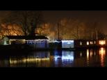 Mick Jerham ~ Wintery Canal Scene