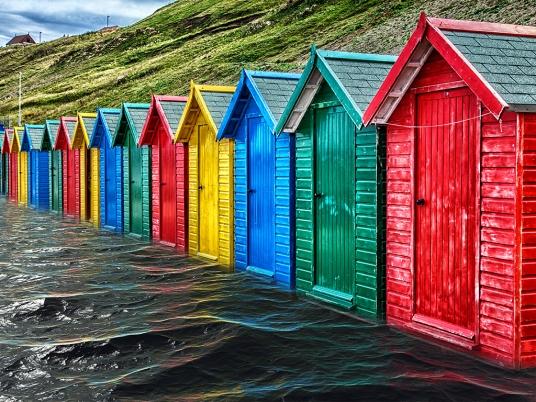 Paul McLaughlin ~ High Tide at Whitby