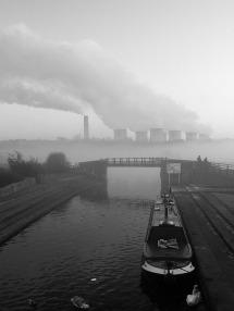 Ray Bates ~ Misty Day at Trent Lock